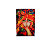 Picture of Monatitti Red Woman Magnet