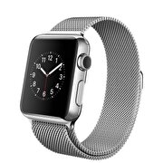 Resim  Apple Watch 38 mm Paslanmaz Çelik Kasa ve Milano Loop