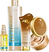 Picture of Avon Argan Oily Hair Care And Planet Spa Body Care Set