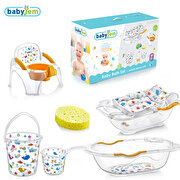 Picture of Babyjem Bebe Luxury Bathroom Set 6 Pieces White