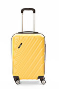 Picture of                    Baggaj V215 ABS Large Size Mustard Suitcase