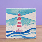 Picture of Biggdesign AnemosS Lighthouse Stone Coaster