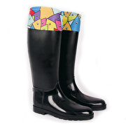 Picture of BiggDesign Fish abundance of rain boots 36