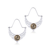 Picture of BiggDesign Horoscope Earrings, Cancer