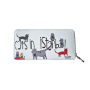 Picture of BiggDesign Cats in Istanbul Wallet Grey