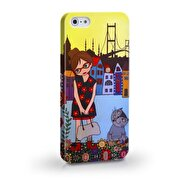 Picture of BiggDesign Floral Girl Iphone 5 / 5S Cover