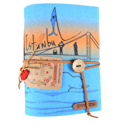 Picture of BiggDesign Istanbul Fishermen Felt Note Book