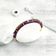 Picture of BiggDesignEvil Eye Purple Bracelet