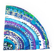 Picture of BiggDesign Evil Eye Round Beach Towel