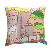 Picture of BiggDesign Rumeli Fortress Patterned Pillow