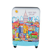 Picture of BiggDesign Smiling ISTANBUL Galata Suitcase Case