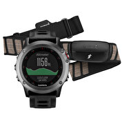 Resim  Garmin Fenix 3 Performer Bundle Gri