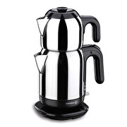 Picture of Korkmaz A369 Demtez electrical teakettle ınox/black