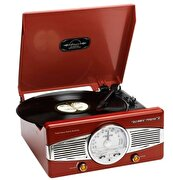 Picture of Lenco TT-28R Retro Turntable with Built-in Speaker
