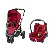 Resim  Maxi-Cosi Mura Plus 3 Travel Sistem Bebek Arabasi / Robin Red