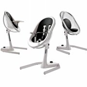 Picture of  Mima Moon 2G+Seat Pad+Booster+Footrest - White/Black