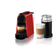 Picture of Nespresso Essenza Mini D35 Red Bundle Coffee Machine