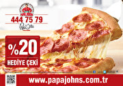 Picture of Papa John's %20 Discount Coupon