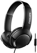 Picture of Philips SHL3075BK On-Ear Headphones with Mic