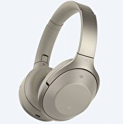 Picture of Sony MDR-1000X Noise Canceling Bluetooth Headset Beige