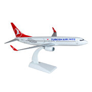 Resim  TK Collection B737 800 1/100 Plastik Model Uçak