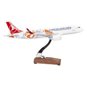 Picture of  TK Collection Euroleague A320 1/100 Model Uçak