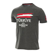 Picture of Uefa Euro 2016 T-Shirt Koyu Gri XL Beden