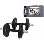 Picture of Voit Voit Rubber coated dumbbell 20KG SET