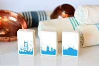 Picture of  TK Collection Istanbul Silhouette Soap Set 3 Pieces