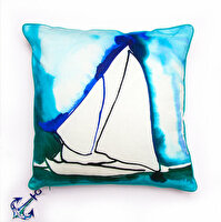 Picture of BiggDesign AnemoSS Pupa Pillow by Turkish Artist, 40x40cm