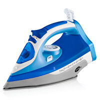 Picture of Goldmaster GM-7613M Maxipress Blue Steam Iron, 2200 W, Anti-Drip Blower, 360 Degree Movable