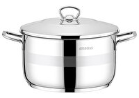 Picture of  Amboss Stone Stainless Steel Stockpot - 34 x 15 cm