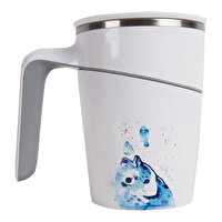 Picture of  AnemosS Bream Patterned, 470 ml, Non-Tilting Steel Thermos Mug