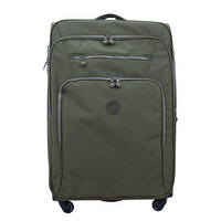 Picture of  Baggaj V118  Green Luggage-Large