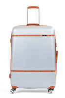 Picture of  Baggaj V209 ABS Large Size Suitcase - Gray