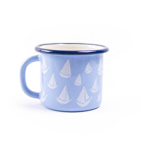 Picture of BiggDesign AnemoSS Orsa Enamel Lilac Mug, by Turkish artist