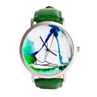 Picture of BiggDesign AnemoSS Pupa Men's Wrist Watch, Leather Belt, Special Design by Turkish Designer