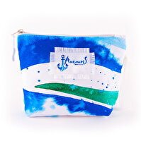 Picture of Biggdesign AnemosS Wave Colorful Make Up Bag by Turkish artist