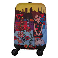 Picture of  Biggdesign Artist Designed 'Flower Girl' Canvas Luggage, 18""