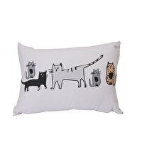 Picture of  Biggdesign Cats in İstanbul Rectangular Pillow