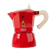 Picture of Biggdesign Cats in Istanbul Red Espresso Machine