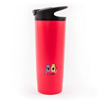 Picture of  Biggdesign 'Cats in İstanbul'  Vacuum Suction Mug, 540 ml, Red