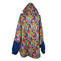 Picture of  Biggdesign 'Fertility Fish' Blue Raincoat, Oversize, Waterproof