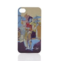 Picture of  BiggDesign iPhone 5 White Cover  violinists