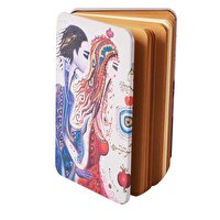 Picture of BiggDesign Love Metal Cover Notebook