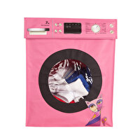 Picture of  Biggdesign Owl And City Laundry Basket, Pink