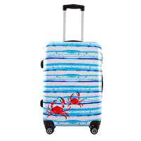 "Picture of  BiggDesign AnemoSS Crab Medium Size Suitcase 24"", designed by Turkish Artist"