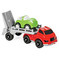 Picture of  Pilsan Master Transport Truck With Car