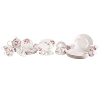 Picture of Porland Rosy Breakfast Set, 44-Piece