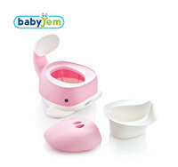Picture of BABYJEM WHALE POTTY PINK